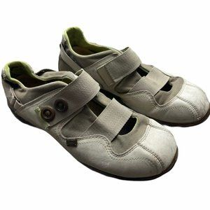 SALOMON Lily Fly Leather Shoes Tan/Beige Size 7